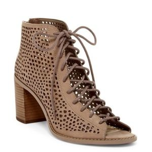 Vince Camuto Tulina Lace-Up Bootie
